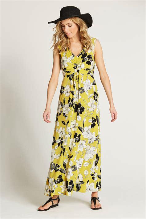 Twist Front Dress by Twist Front Maxi Dress