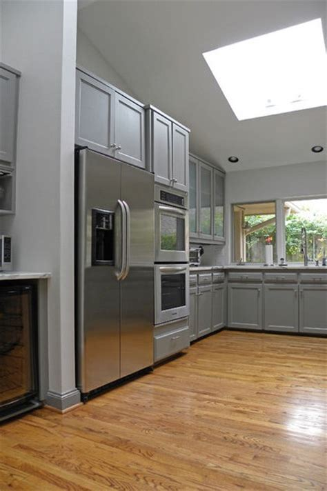 Cabinets and island paint: Dorian Gray, Sherwin Williams