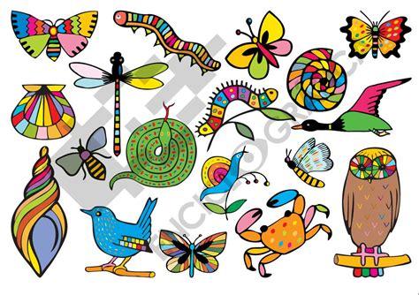 imagenes de encontrar animales ocultos animalitos de colores