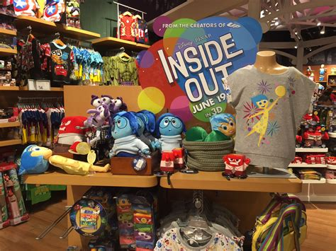 stuff store inside out stuff at the disney store by cartuneslover16 on deviantart