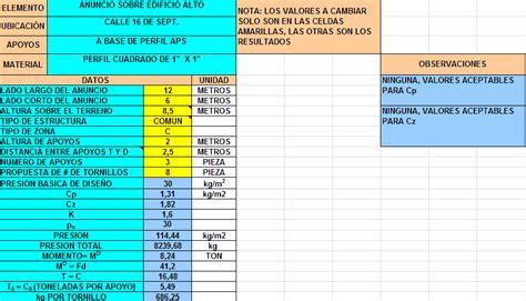 planilla de calculo c 225 lculo estructural archives p 225 gina 3 de 3 planos de