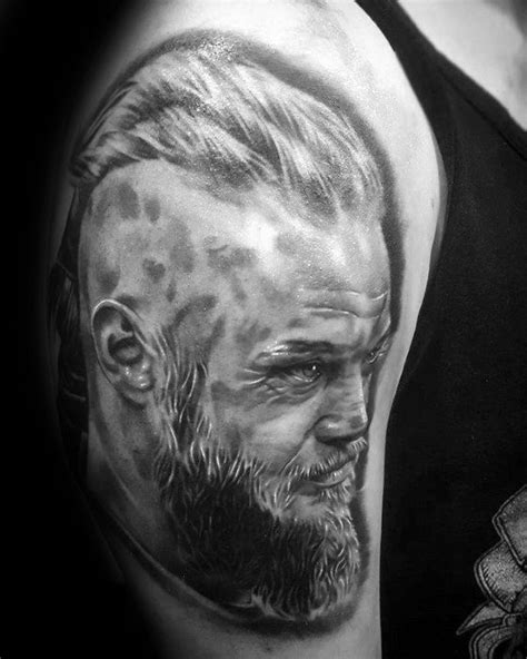 meaning behind ragnars tattoos ragnar lothbrok head tattoos meaning tattoo ideas ink