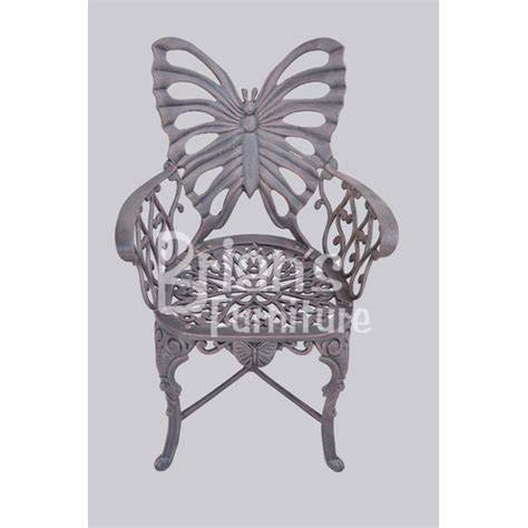 Butterfly Patio Chair Butterfly Cast Aluminum Furniture Collection Baton Area Louisiana