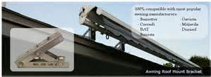 retractable awning mounting brackets awning roof mount bracket glydea motorized draperies
