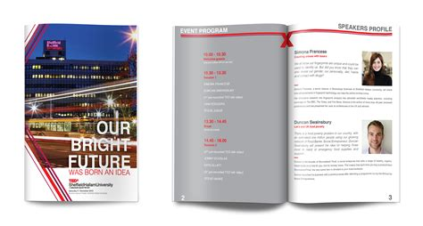 booklet layout software booklet design tedx sheffield hallam university uk