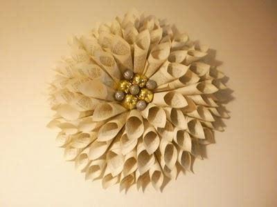 ghirlande di fiori di carta ghirlanda di carta invecchiata paperblog