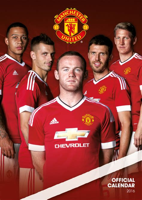 manchester united official 2018 1785494481 manchester united fc calendars 2018 on ukposters