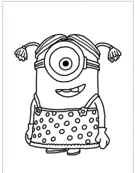 Despicable Me Minion Coloring Pages Coloring Home Despicable Me Minions Coloring Pages