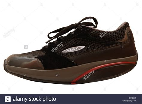 mbt c mbt shoe with a rounded sole stock photo royalty free