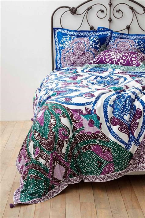 bedding like anthropologie nwt anthropologie isla duvet cover sz queen size new