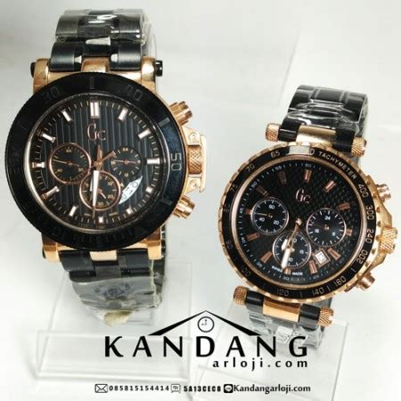 Harga Jam Tangan Merk Guess Collection gc x class black rosegold kw grade aaa