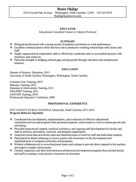 impressive sle resume format for experienced professionals most professional resume format best resume gallery