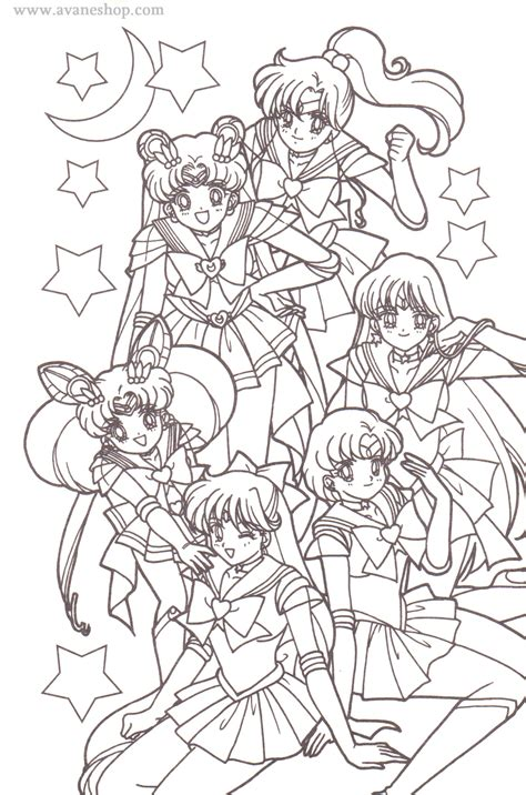 sailor moon coloring pages sailor moon coloring pages avaneshop avane vintage toys