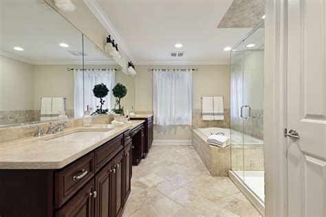 white and beige bathrooms 34 luxury white master bathroom ideas pictures