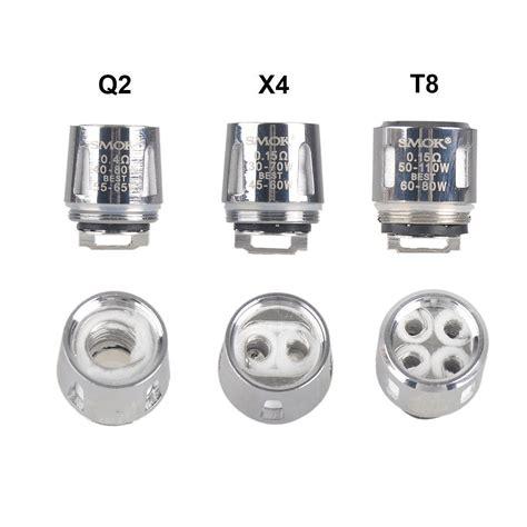 Original Smoktech Tfv8 Baby Tank Rba Coil Glass V8 smok tfv8 baby v8 q2 coils 5 pack tx vape shop vaporizers e cigs e juice new