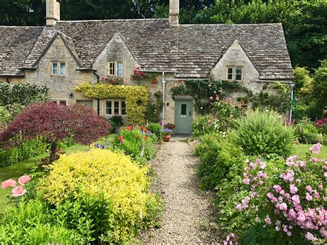 Above The Cottages by Bibury Is Looking Beautiful Today Cotswold