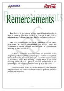 Lettre De Remerciement Formateur Abc Rapport De Stage