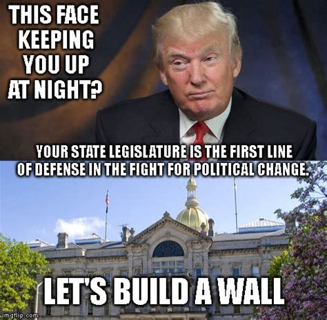 Build Meme - i will build a great wall and nobody builds walls