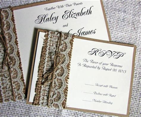 Handmade Engagement Invitations - 14 out of the box handmade wedding invitations