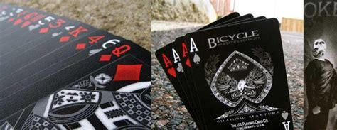 Bicycle Shadow Masters   Black Deck of Playing Cards   The