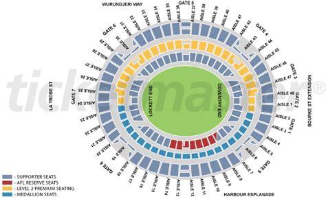 anz stadium floor plan docklands stadium seating images