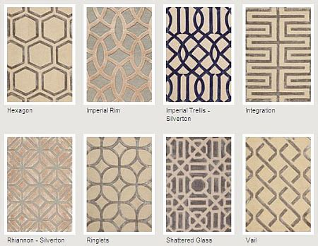 new geometric rugs from patterson, flynn and martin | the
