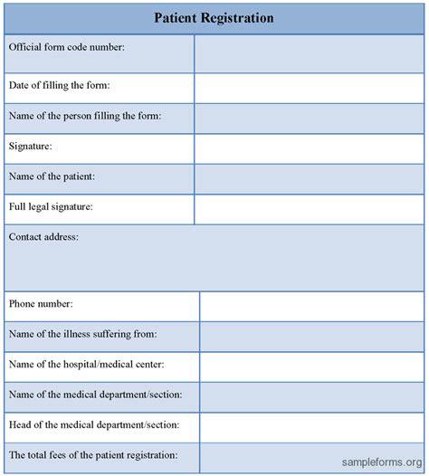 10 printable registration form templates pdf doc free
