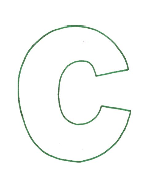 what is pattern in c letter c pattern