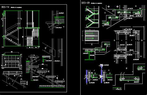 stair detail dwg detail  autocad designs cad