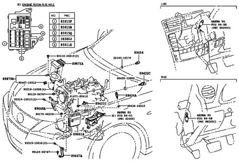 1994 ls400 engine diagram wiring diagrams wiring diagram