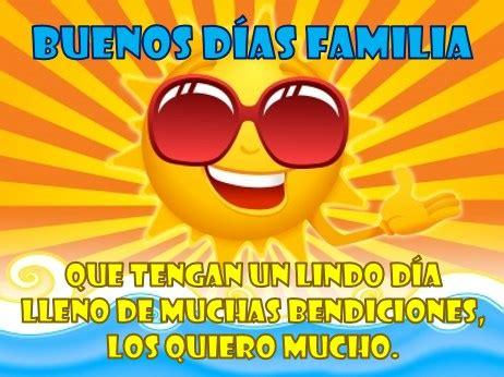 imagenes bonitas de buenos dias familia hermosas tarjetas de buenos d 237 as familia para compartir