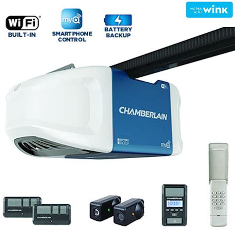 Built In Garage Door Opener Chamberlain 8 Ft Belt Drive Extension Kit 8808cb The Home Depot