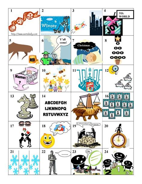 picture christmas song quiz song puzzles lrkj