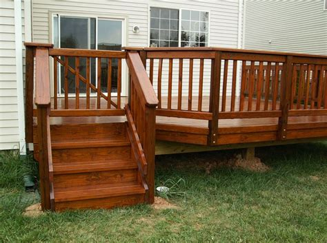 On Wooden Deck wooden deck gate woodworking projects plans