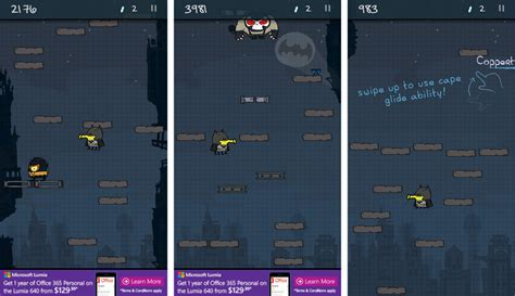 doodle jump batman suits doodle jump dc review the takes a flying leap