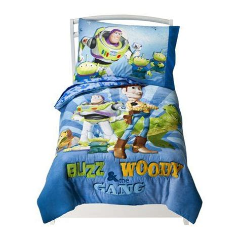 toy story toddler bedding set buzz woody comforter sheets disney toy story buzz woody and gang 4 piece toddler