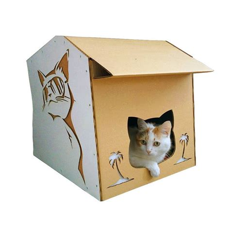 cardboard cat house cool summer cardboard cat house summer nap in a lazy afternoon