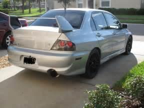 2003 Mitsubishi Lancer Evolution 8 2003 Mitsubishi Lancer Evo Viii