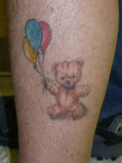 great tattoos teddy bear tattoos