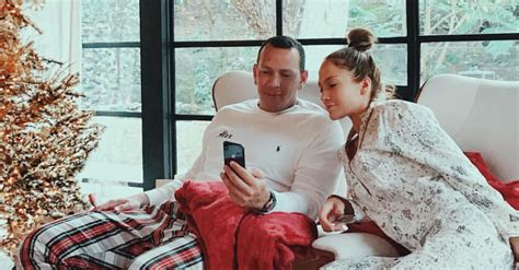 jennifer lopez alex rodriguez share     christmas