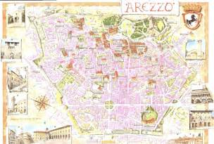 Arezzo Italy Map by Large Arezzo Maps For Free Download And Print High