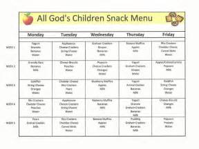 childcare lunch menu google search meals for the day