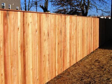 Decorative Bathrooms Ideas vertical board w cap board wood privacy fence
