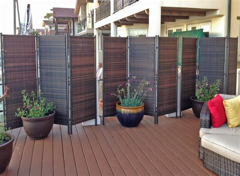 More Privacy For Your Deck Or Patio Amazing Deck Privacy Screens For Patios