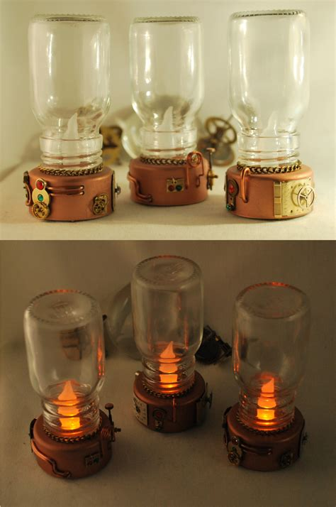 Handcrafted Candles - handcrafted steunk lantern led candles by henri 1 on