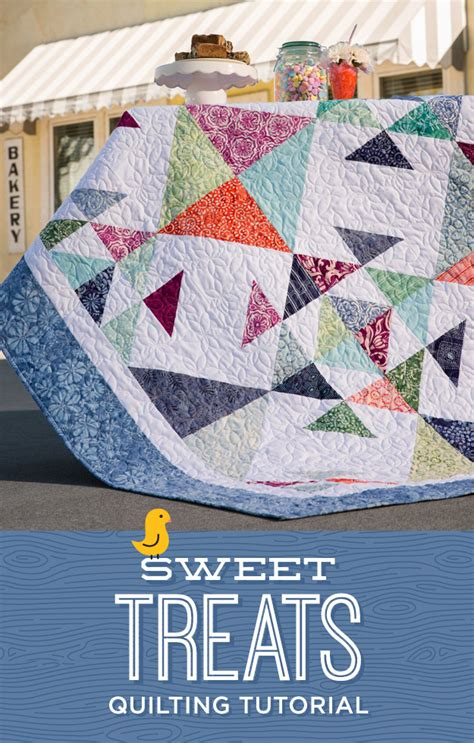Quilt Recipes sweet treats tutorial the cutting table quilt