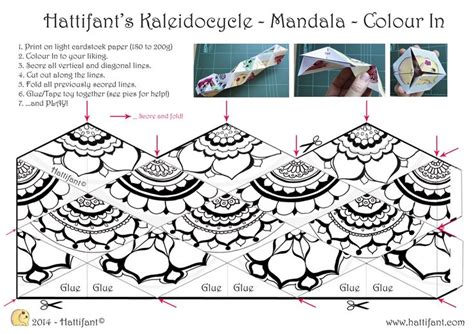 printable kaleidocycle template wow cool i must find a way to use this in jh math or