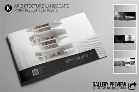 Architecture Landscape Portfolio Adobe Indesign Template Cmyk Print Ready Corporate And Indesign Portfolio Template Architecture