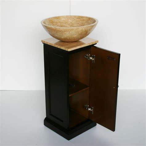 12 Inch Bathroom Vanity G2730 12 Single Sink Vanity Travertine Top Cabinet