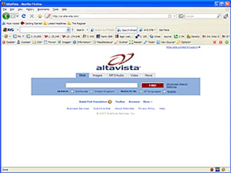 Alta Vista Search Altavista Search Engine